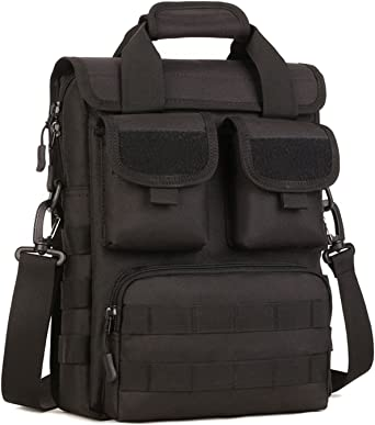 Tactical Briefcase Military Laptop Messenger Bag for Men