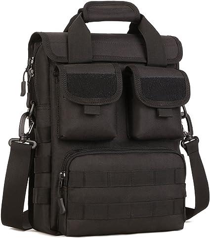 Color : D DNSJB Mens Lady Portable Fabric Bag Casual Outdoor Briefcase Shoulder Messenger Satchel Crossbody Handbag Gift Present