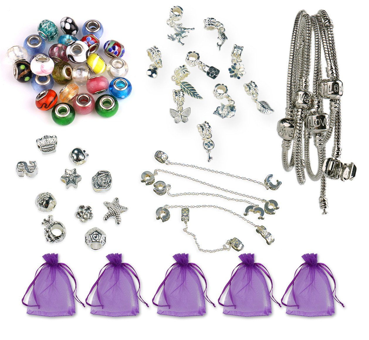 10 x Tibetan Silver FEATHER Charms Pendant Bead