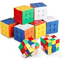 Set of 10 Ganowo 3X3 Rubic Cube