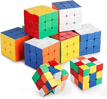 Set of 10 Ganowo 3X3 Rubic Cube