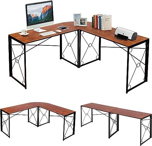 VECELO Computer Corner Craft Desk