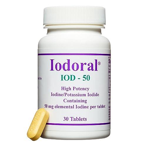 Optimox Corporation, Iodoral, IOD-50, 50 mg, 30 Tablets