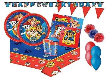 Irpot Kit n 17 - Fiesta de cumpleaños B PawPatrol: Amazon.es ...