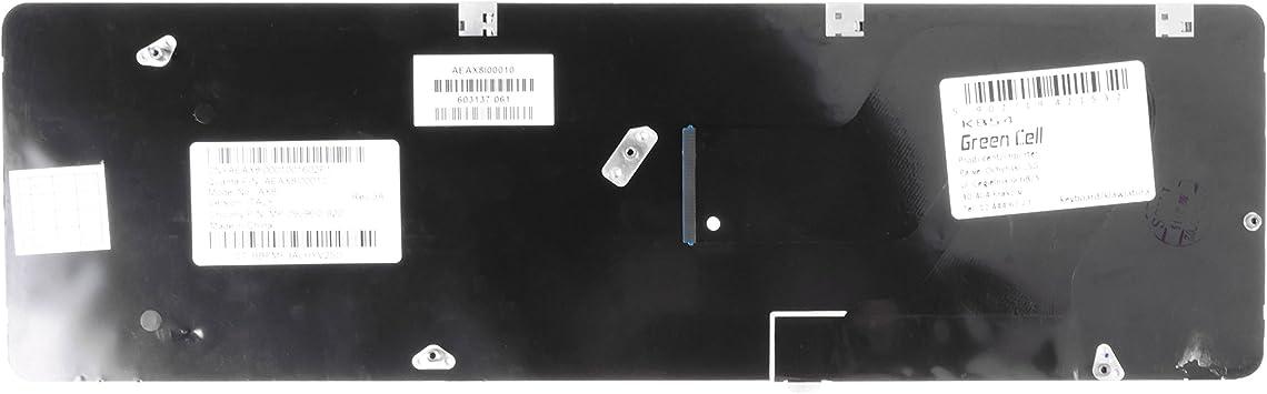 Green Cell® Clavier d'ordinateur portable pour HP G72–257 CL