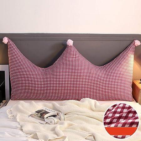 Jian E E - Crown Bed Head Cushion Soft Pack Bed Head Princess a Prueba de Viento Extraíble Almohada Gran Respaldo Sofá Almohada Cama Cojín Cojín/-/ (Color : I): Amazon.es: Hogar