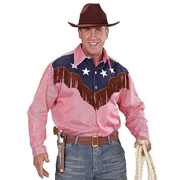 Country Cowboy Shirt M L Uk 40 42 Rodeo Western Shirt