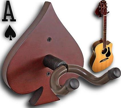 RawRock Spades - Colgador de pared para guitarra: Amazon.es: Libros