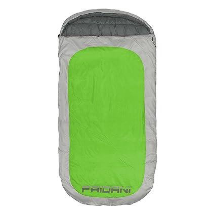 Fridani PG 220S XXL Camping Saco de Dormir de hasta 18 °C Outdoor – Saco