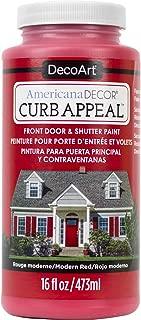 product image for DecoArt Americana Decor Curb Appeal 16oz Modernred CurbAppeal16oz