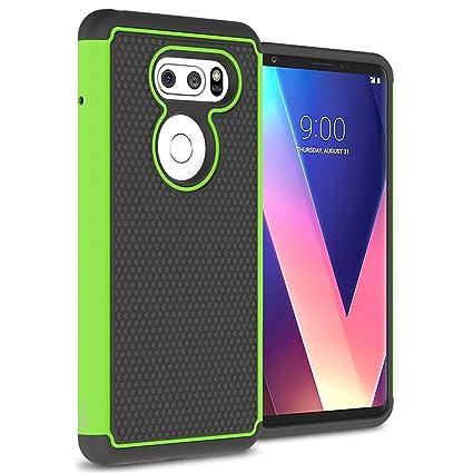Amazon.com: LG V30 Plus Caso, LG V30 Caso, coveron hexaguard ...