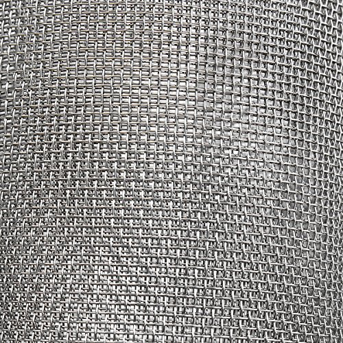 New 12x48Inch Stainless Steel 316 Cloth Filtration Woven Wire Screen 10 Mesh