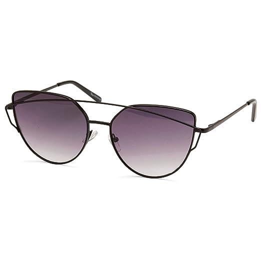 1e198341a31 Amazon.com  Cat Eye Sunglasses for Woman-Vintage Retro 90s colored ...
