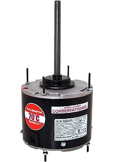 fasco d934 5 6 inch condenser fan motor 1 3 hp 208 230 volts 825 a o smith fse1028sf 1 4 hp 825 rpm 825 volts 1 5 amps