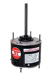 A.O. Smith FSE1028SF 1/4 HP, 825 RPM, 825 volts, 1.5 Amps, 48 Frame, Sleeve Bearing Condenser Motor