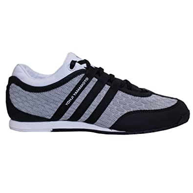 81c68cd0b201 Mens Y-3 Mens Y-3 Boxing Low Top Trainers in White Black - UK 11.5 ...