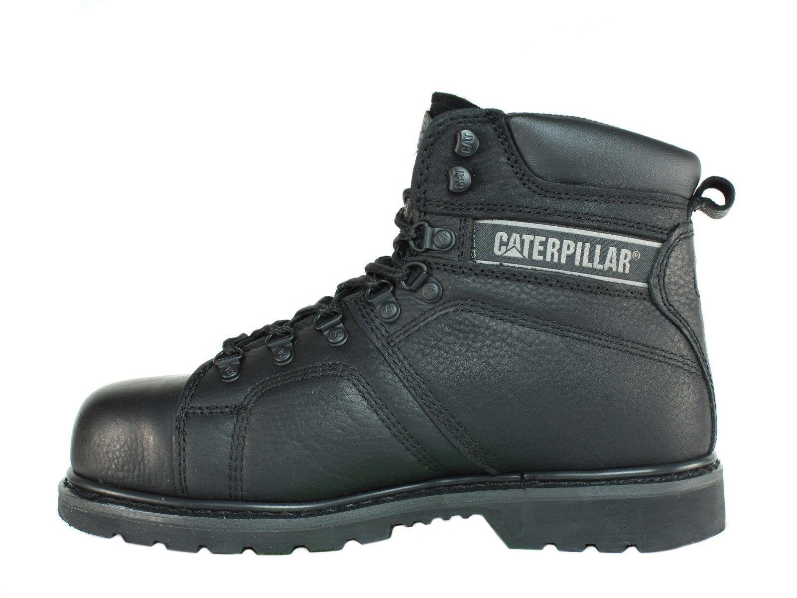 Caterpillar SureGrip Mens Silverton SG Black Slip Resistant Work Boots 12M by Caterpillar (Image #6)
