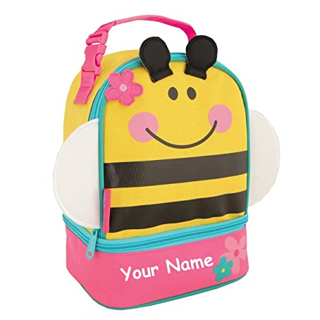 943b40210a34 Stephen Joseph Personalized Bumble Bee Lunch Pals Lunch Box Bag
