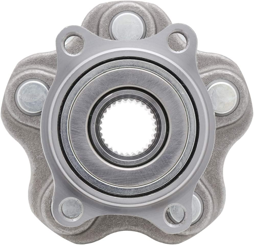 2003-2007 Infiniti G35 OEM Replacement: 43210AL505, 43202AG000 512346H REAR Driver or Passenger Side Wheel Hub Bearing Assembly Compatible With 2003-2009 Nissan 350Z 1-Pack