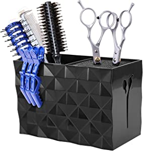 Scissor Holder, Hair Scissors Large Storage Box, Hairdressing Combs Clips Scissors Hair Desktop Organizer Box, Hair Scissors Set
