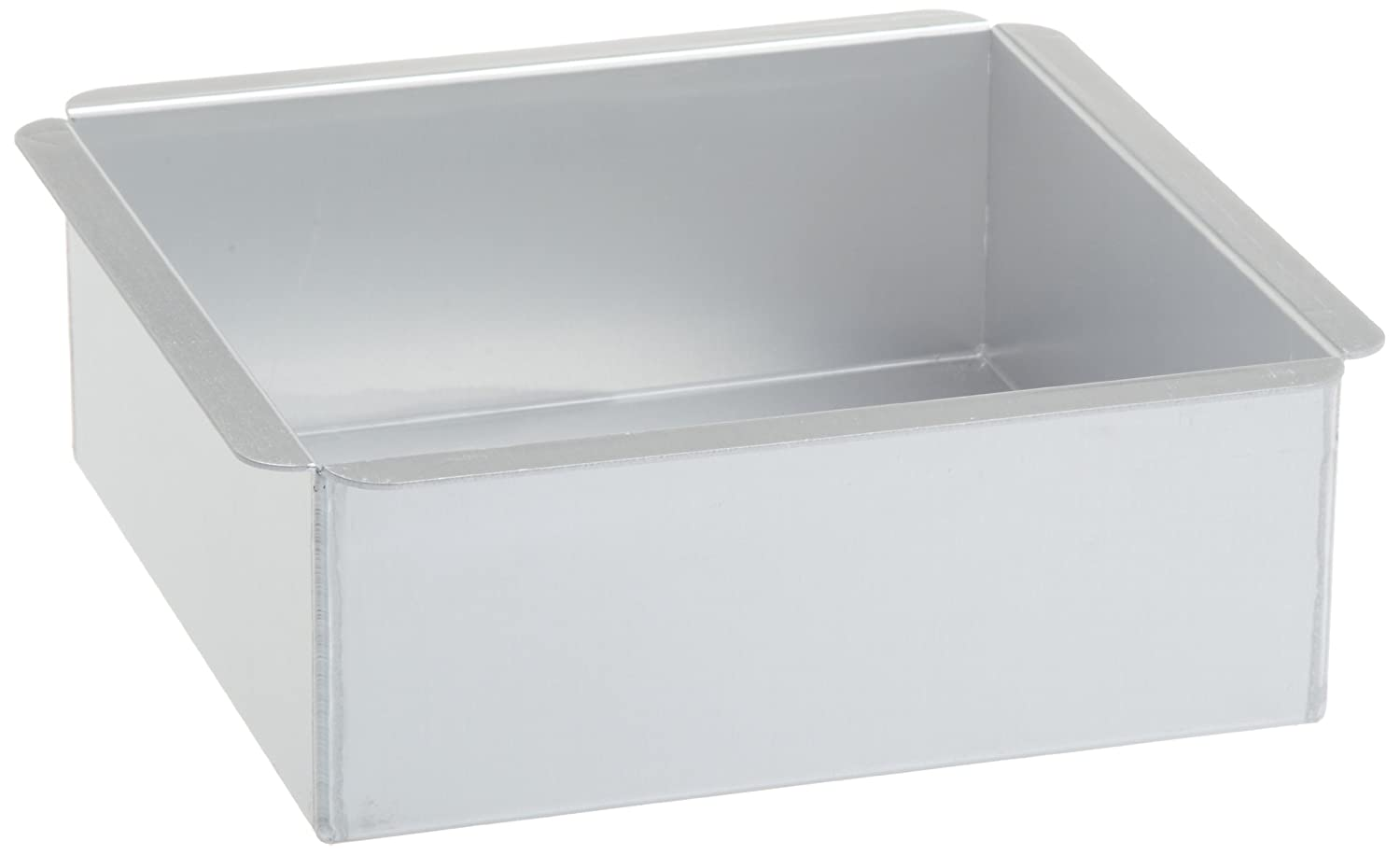 Ateco 12066 6-Inch by 6-Inch by 3-Inch Professional Square Baking Pan