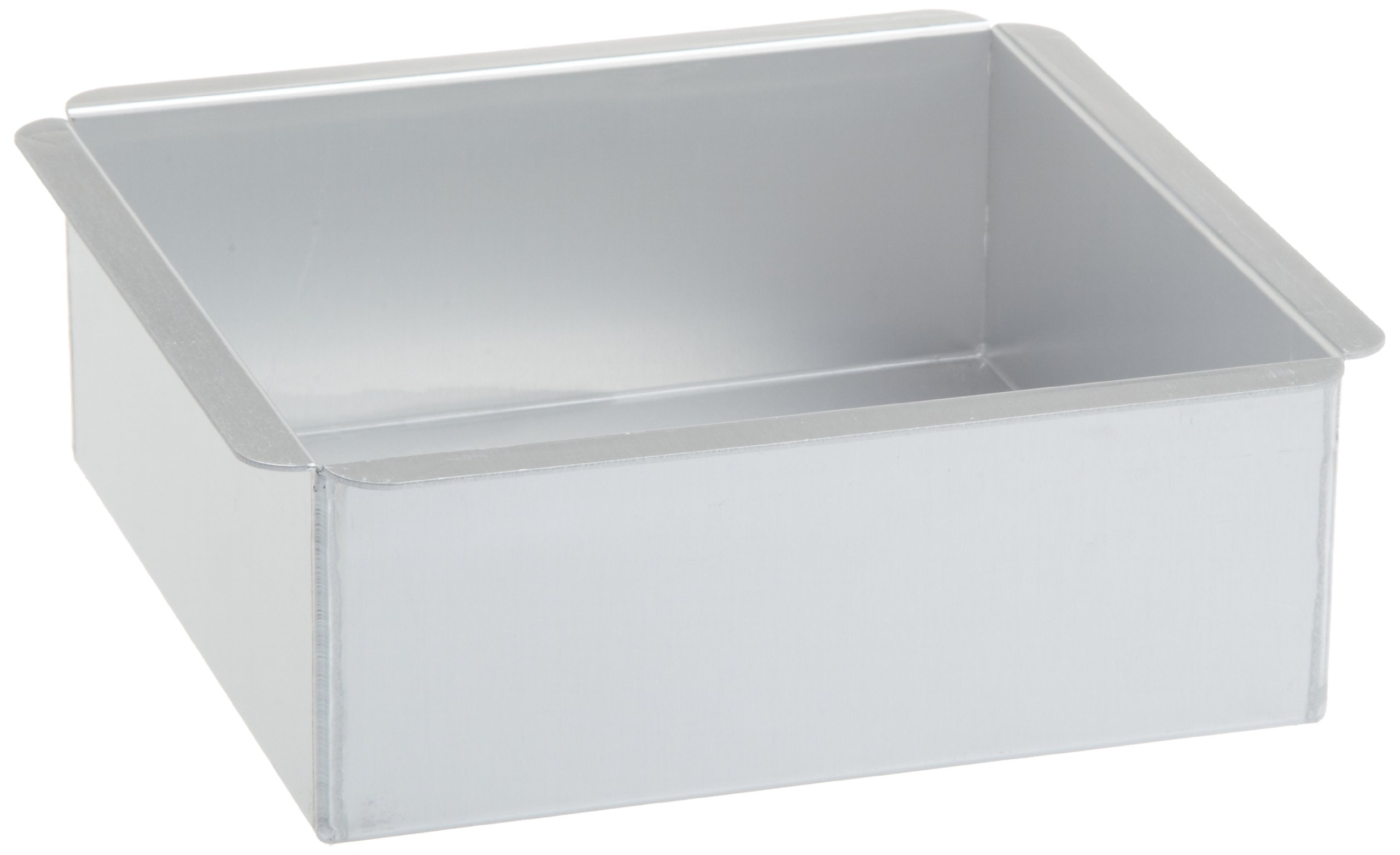 Ateco 8 by 8 by 3-Inch Professional Square Baking Pan