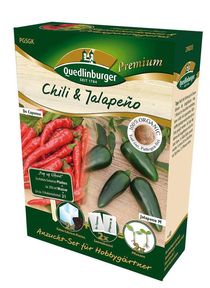 Kit de semis pour Chili Jalapeno de Annales de semences Quedlinburger Saatgut