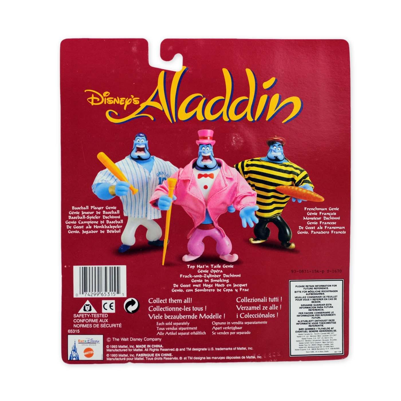 Mattel Disney Aladin Spielfigur Dschinni 3er Pack 15x10 cm NEU OVP aus 1993