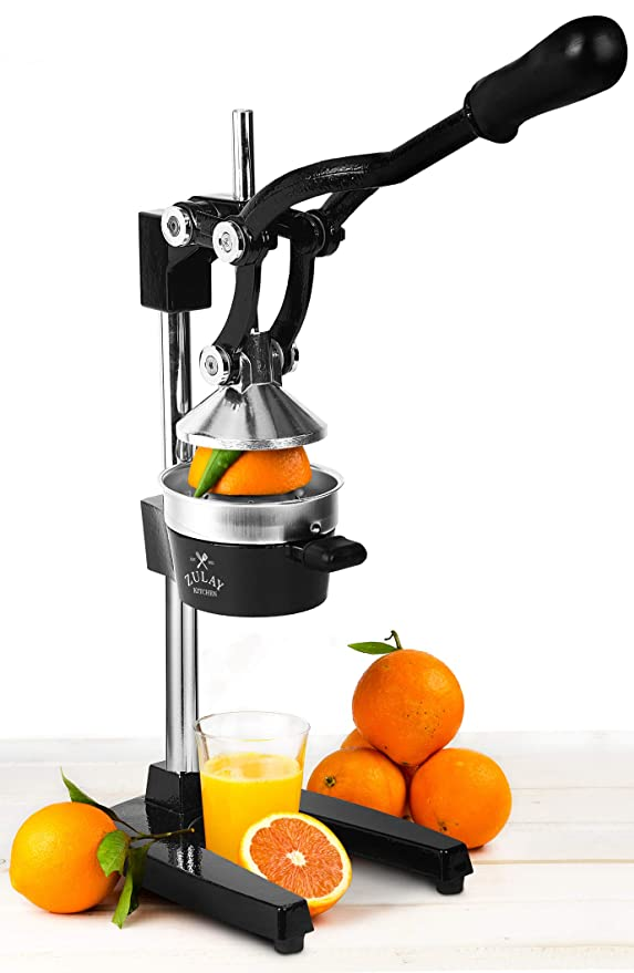 Amazon.com: Zulay Extra Tall Orange Juicer - Manual Orange Juice Squeezer, Fits