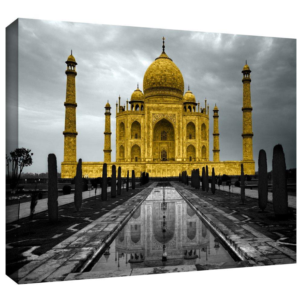 Amazon.com: ArtWall Revolver Ocelot \'Taj Mahal\' Gallery-Wrapped ...
