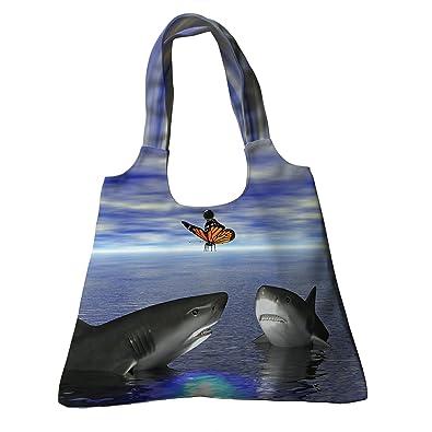 00caec93d1 Amazon.com  Custom Ocean Animal Canvas Bag