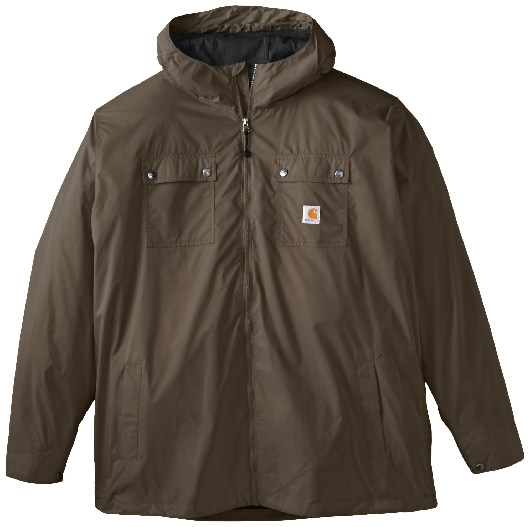 Carhartt Men's Big & Tall Rockford Rain Defender Jacket,Breen,XXX-Large Tall by Carhartt