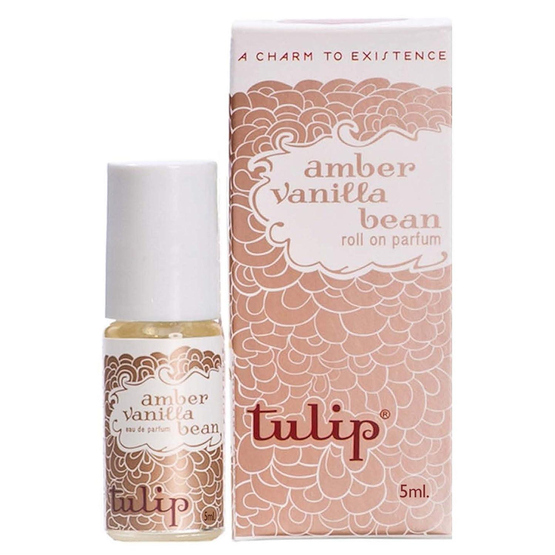Tulip Perfume Classic Roll On Eau De Parfum, Amber Vanilla Bean, 0.6 Ounce