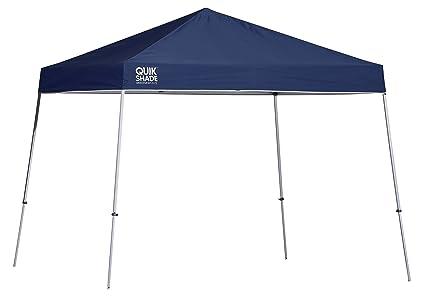 Quik Shade 10u0027 x 10u0027 Weekender Elite Slant Leg Outdoor Tent Instant Canopy with  sc 1 st  Amazon.com & Amazon.com: Quik Shade 10u0027 x 10u0027 Weekender Elite Slant Leg Outdoor ...
