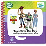 LeapFrog LeapStart Toy Story 4 Toys Save The Day