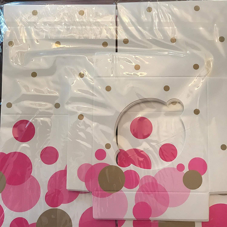 Paper Eskimo Cupcake Box (Pack of 6), Pink So Hot CBPH1532