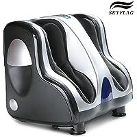 SkyFlag Leg and Foot Massager (Silver-Black)