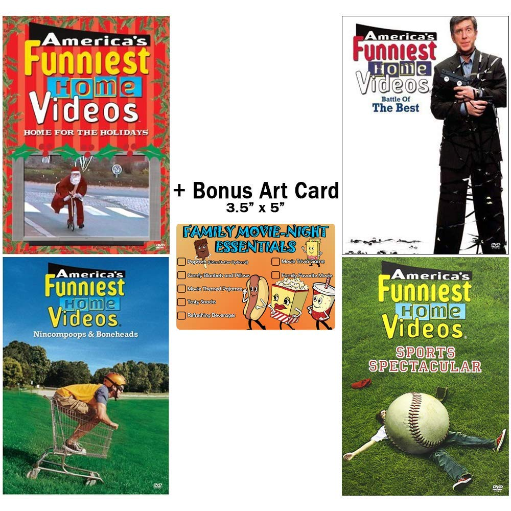 America's Funniest Home Videos: The Hilarious Hijinks Collection - TV Episodes + Bonus Art Card
