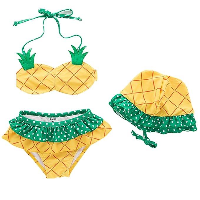 Kanodan Baby Bikinis M/ädchen Badeanzug 1-5 Jahre Kinder Badebekleidung