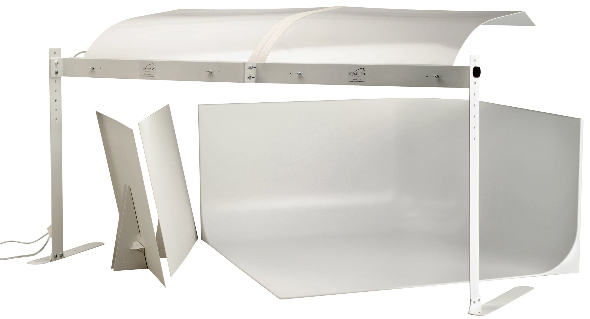 MyStudio MS32 Professional Table Top Photo Studio Lightbox Kit w/ 5000K Lighting for Product Photography, 32x32x16 inches