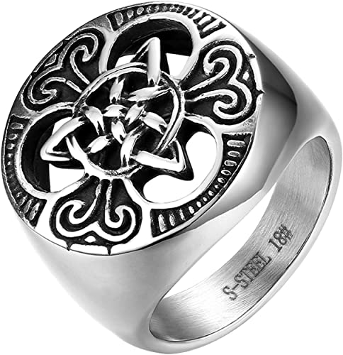 Stainless Steel Eagle Ring Size 9 10 11 12 13 14 Turquoise Hypoallergenic Mens