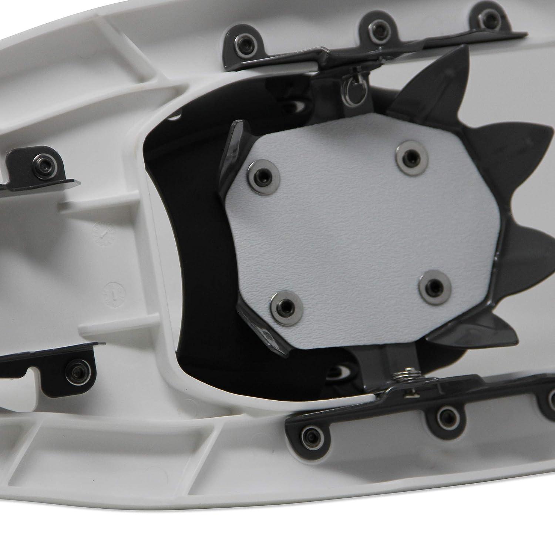 ATTRAC Schneeschuhe Kunststoff RUTSCHSICHER doppelte Ratschenbindung Belastbar bis 110 kg