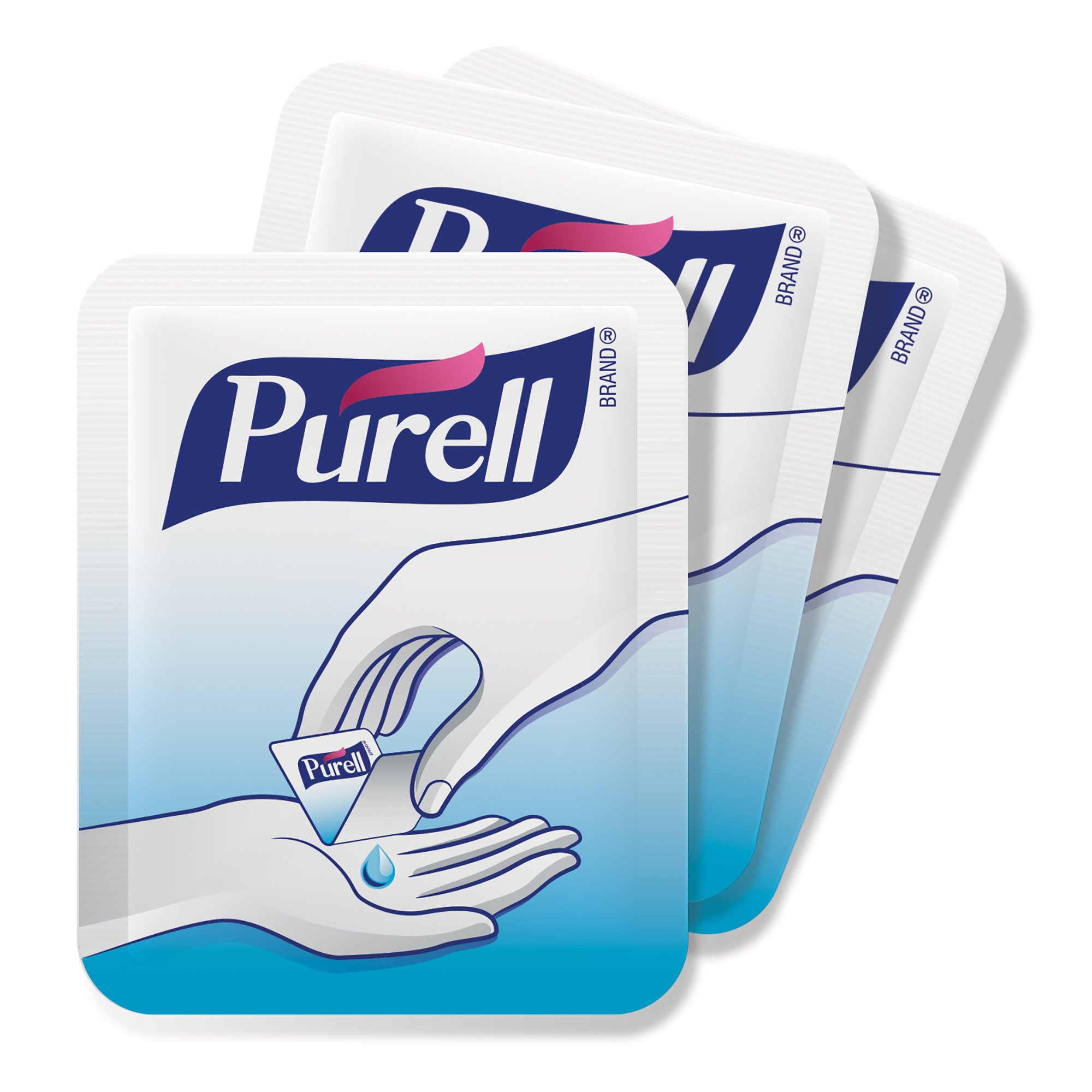 PURELL Advanced Hand Sanitizer Singles - Travel Size Single Use Individual Portable Packets, 125 count Self Dispensing Packets in a Display Box - 9620-12-125EC by Purell (Image #2)