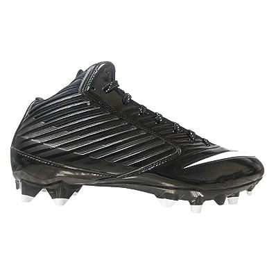 ec755690e Nike Mens Vapor Speed Mid TD Football Cleat Black White (9
