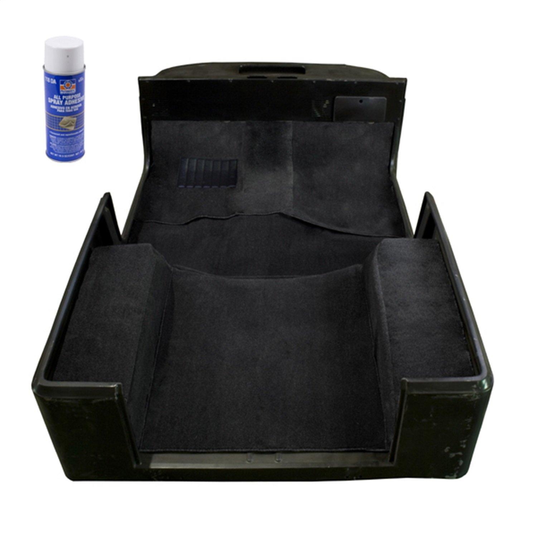 Amazoncom Jeep Wrangler Deluxe Replacement Black Carpet Kit (1997 2006) Automotive