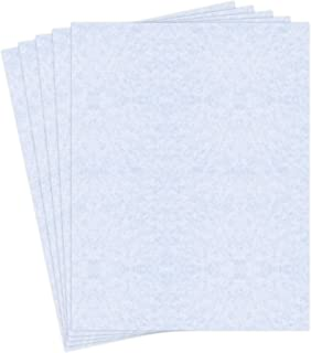 8.5 X 11 Stationery Imitation Parchment Recycled Paper 65lb. Cover Cardstock - 50 Sheets Per Pack (New White)