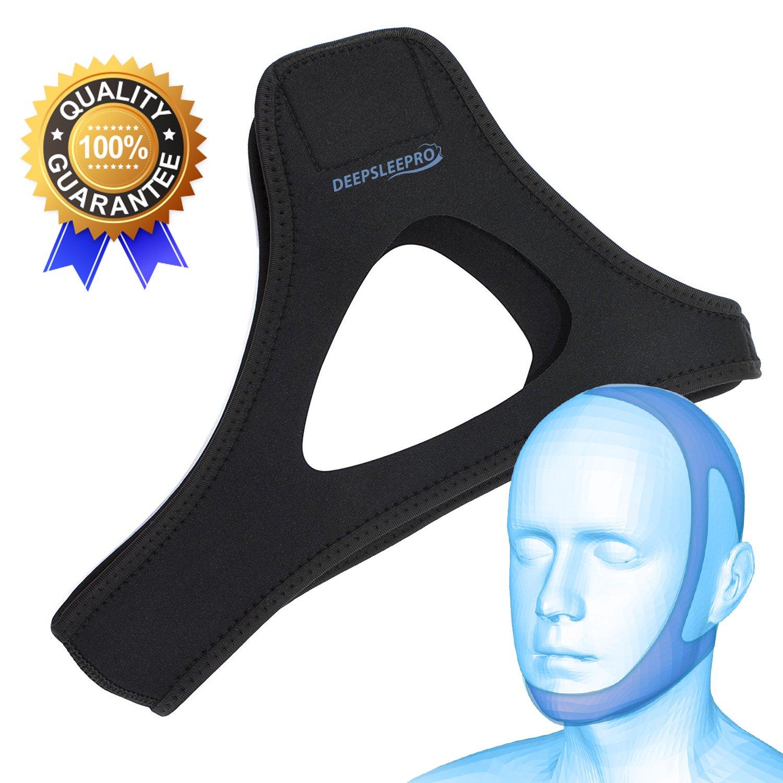 Deepsleepro Adjustable Stop Snoring Chin Strap