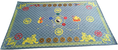 Feng Shui Lucky Bagua Map Non Slip Door Mat Feng Shui Carpet Mat Household Items