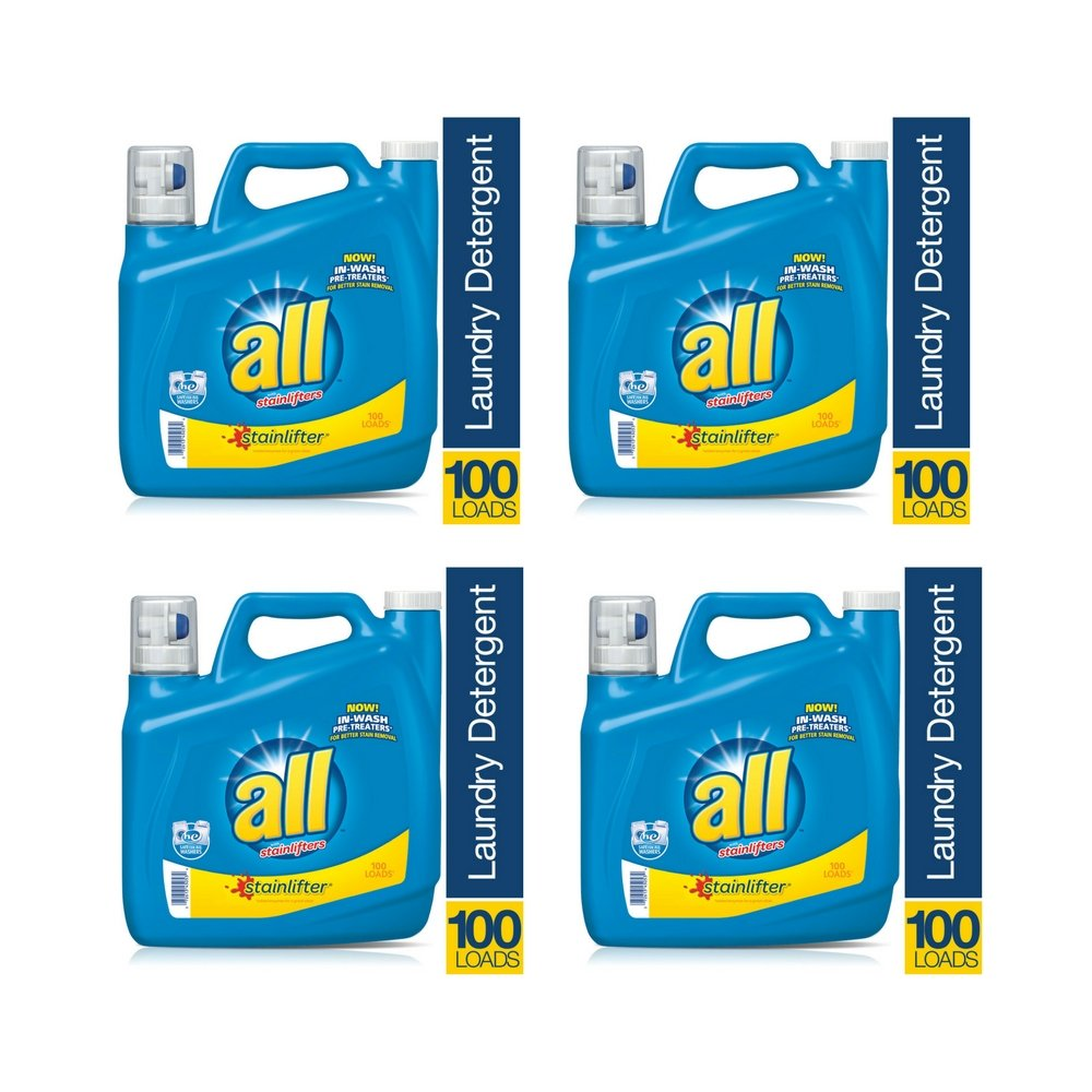 All Laundry Detergent Stainlifter 150 fl. oz. (4 Pack)