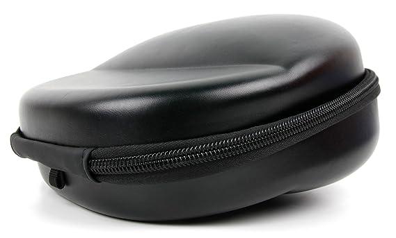DURAGADGET Funda/Carcasa rígida para Auriculares Sennheiser HD 25-1 | HD 25-1 II Adidas Originals Color Negro.
